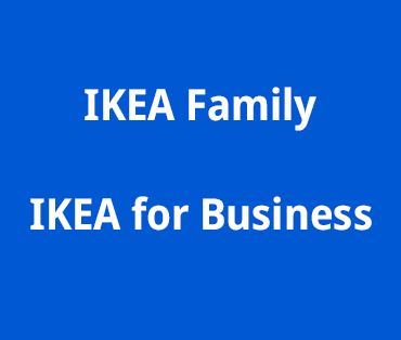 IKEA FAMILY e IKEA BUSINESS